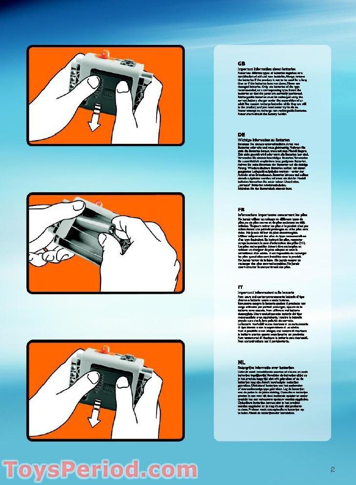 lego ferris wheel instructions 4957