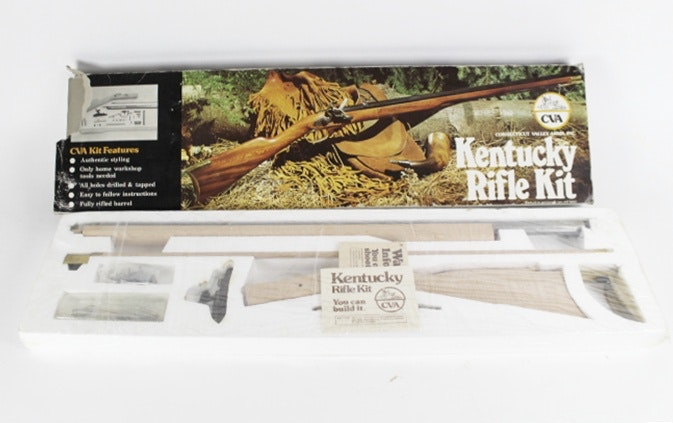 cva kentucky pistol kit instructions
