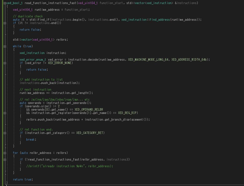 intel instruction ret opcode