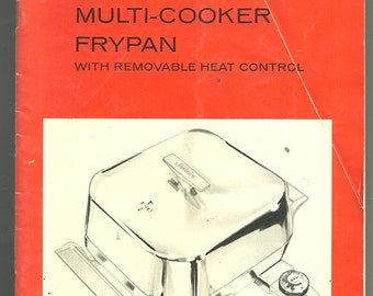sunbeam electric frypan fp 5805 instruction booklet