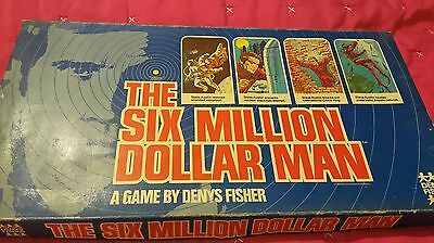 six million dollar man board game instructions