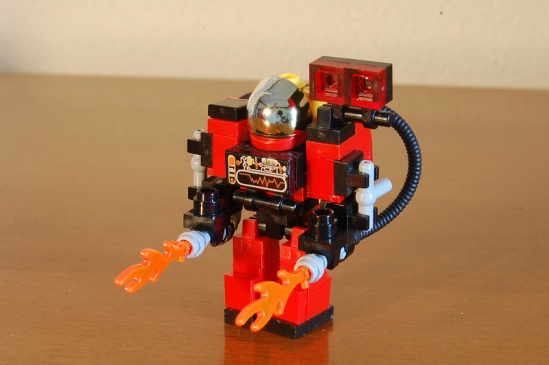 lego starcraft marine instructions