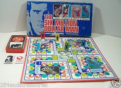 six million dollar man board game instructions
