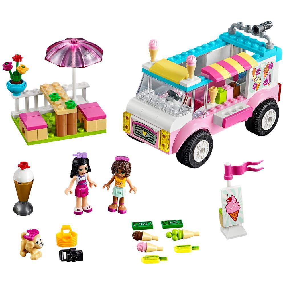lego juniors ice cream truck instructions