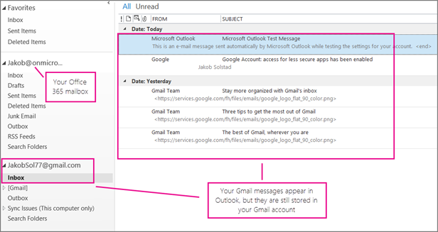 microsoft office 365 instructions to add email accounts