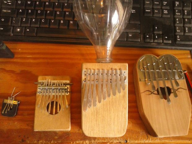 how to make a thumb piano instructables