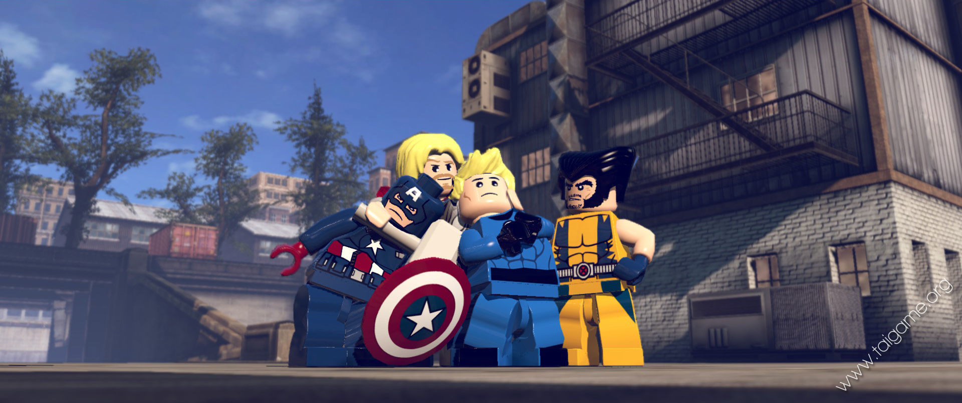 lego marvel game instructions