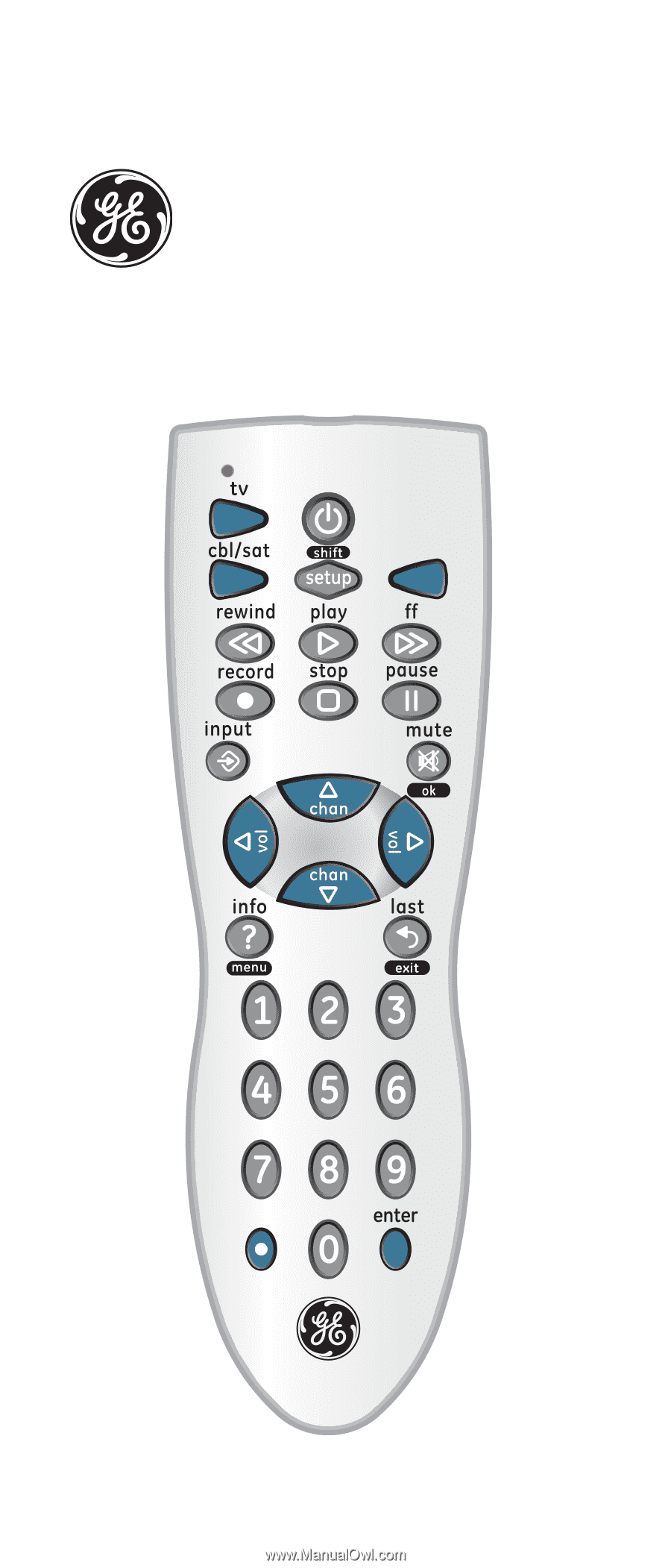 tevion universal remote ur1703 instructions