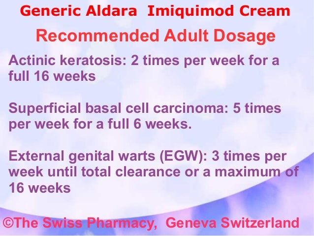 imiquimod cream for warts instructions