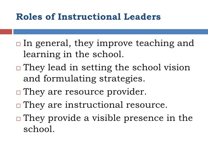 definition of instructional supervision in education