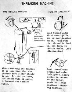 singer lockstitch 2000 sewing machine instructions