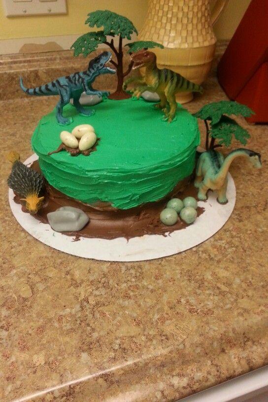 easy dinosaur cake instructions