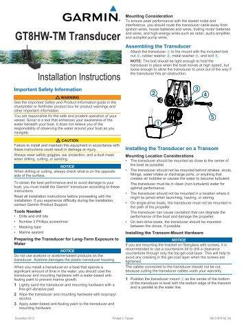 installation instructions te at www garmin