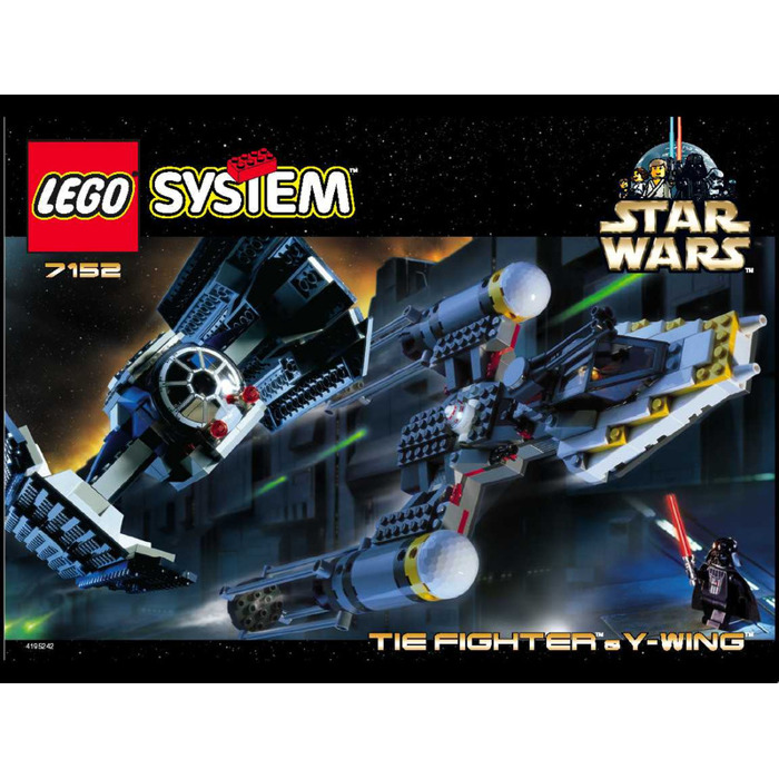 lego y wing instructions 2007