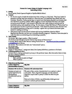 neil gaiman instructions lesson plans