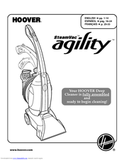 hoover agility carpet cleaner instructions
