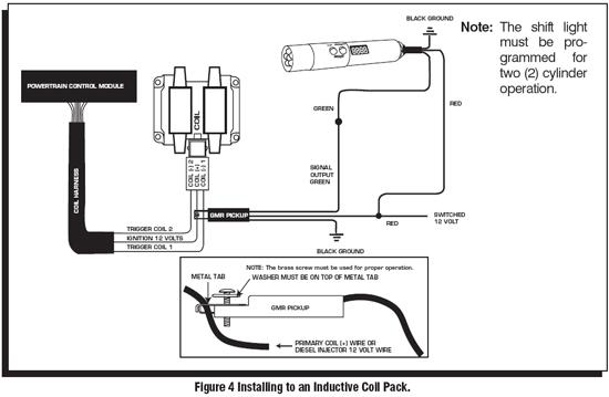 autometer digital tach shift light instructions