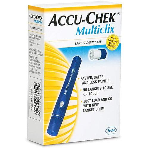 multiclix lancet device instructions