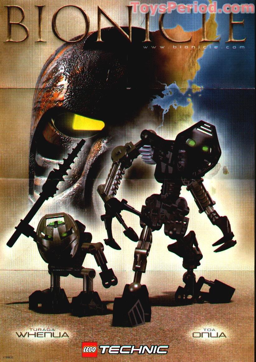 bionicle onua nuva building instructions