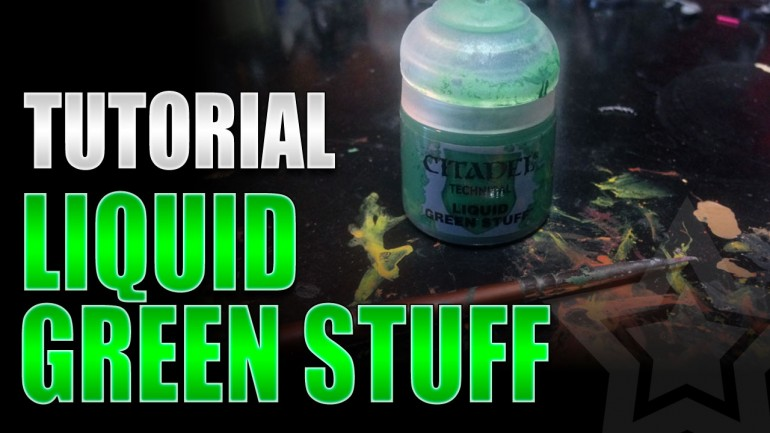 liquid green stuff instructions