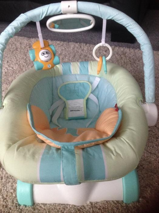 fisher price vibrating chair instructions