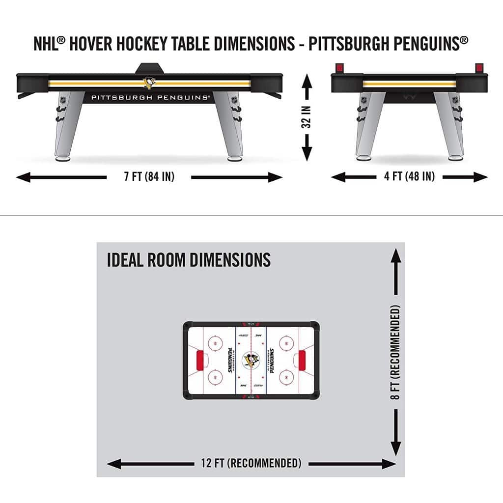nhl air hockey table instructions