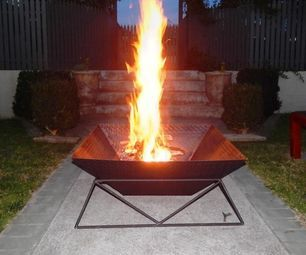 diy fire pit instructables