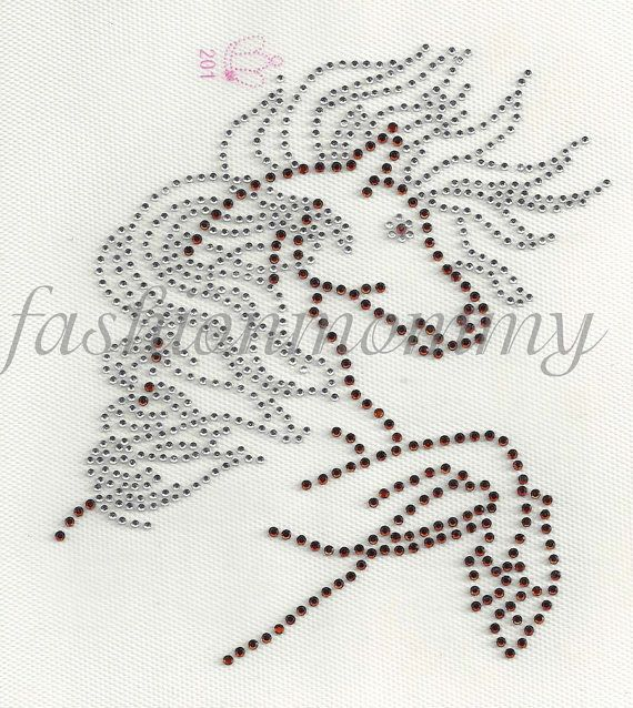 iron on rhinestone appliques instructions