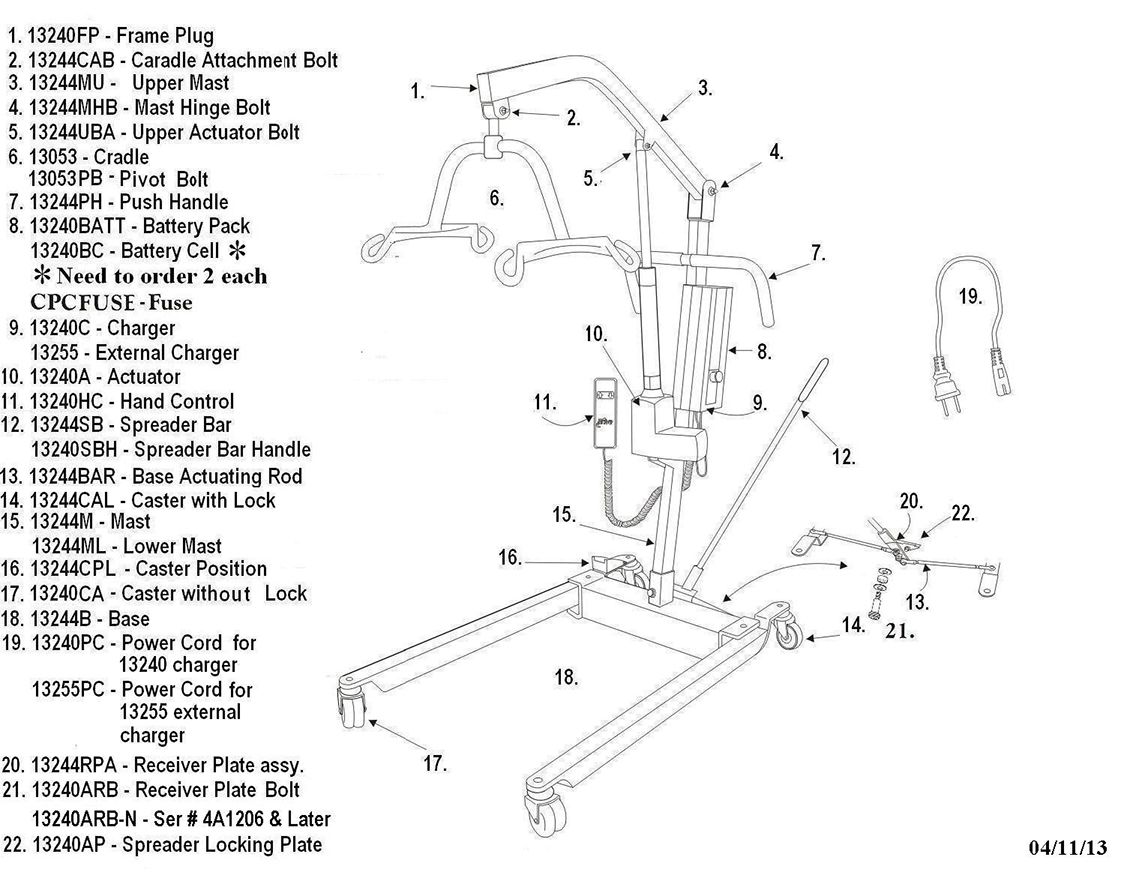 drive shower chair instructions