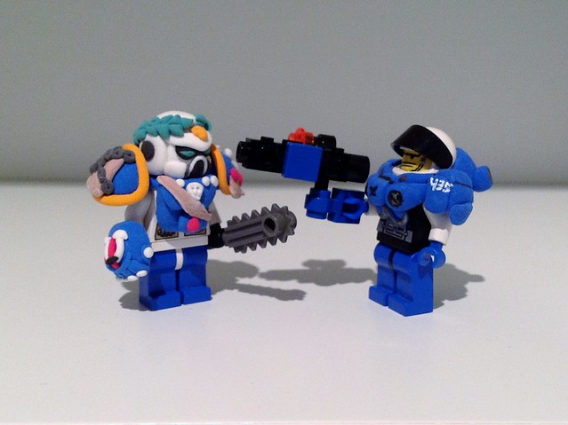 lego starcraft marine instructions
