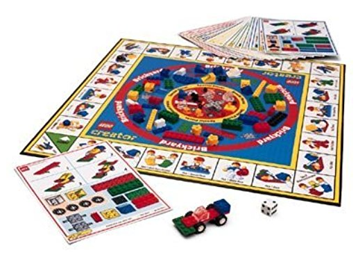 lego creator the race to build it board game instructions