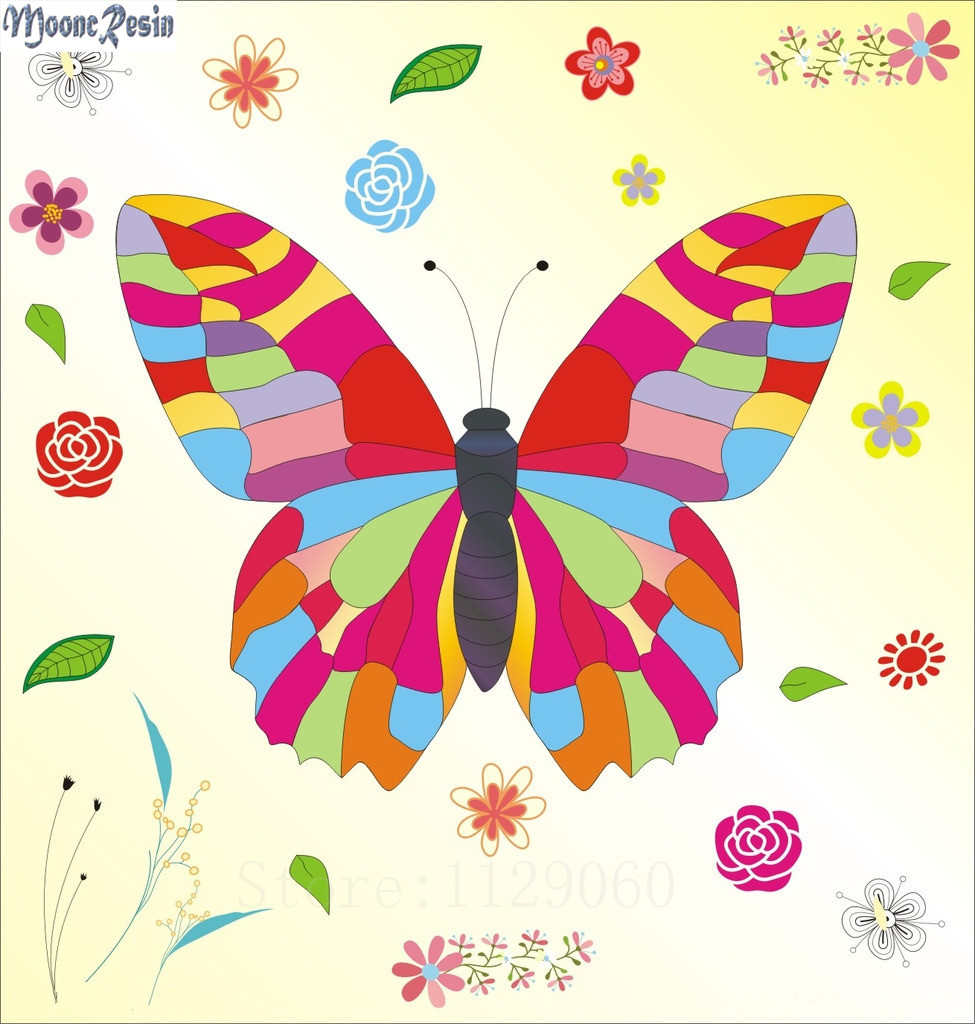 3d butterfly puzzle instructions