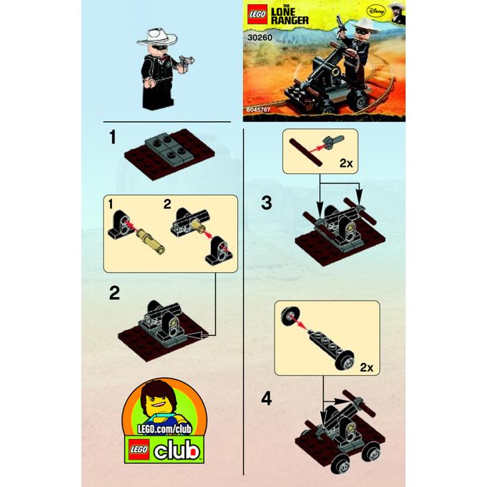 lego lone ranger mine instructions