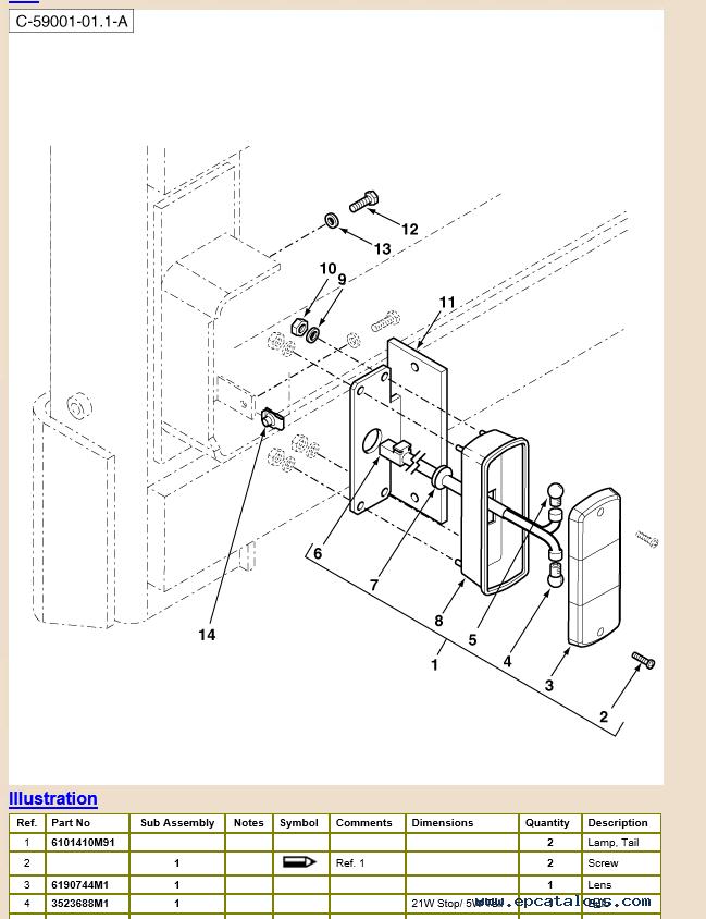 work instruction skidsteer loader tas