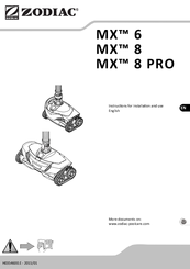 instructions manual for a zodiac mx8