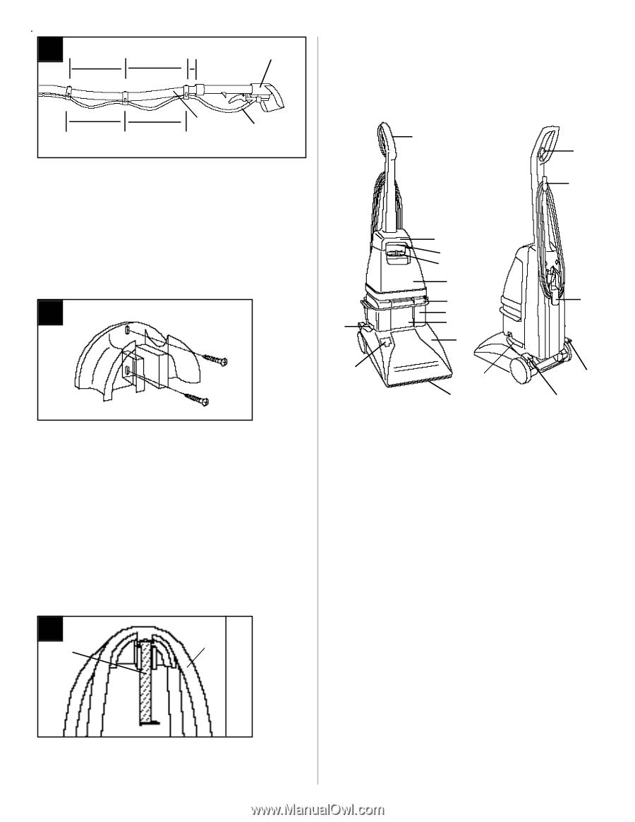 hoover steamvac jr instructions