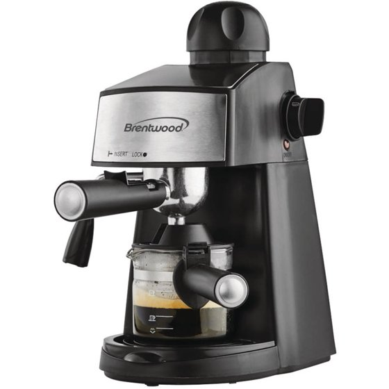brentwood espresso and cappuccino maker instructions