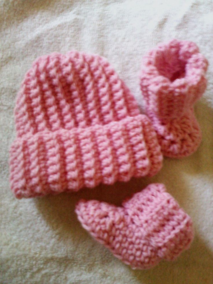 crochet baby beanie instructions with pictures
