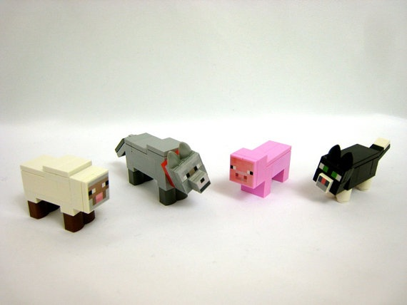custom lego minecraft instructions