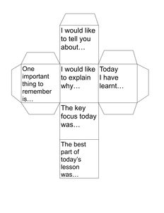 differentiated instruction cubes uk