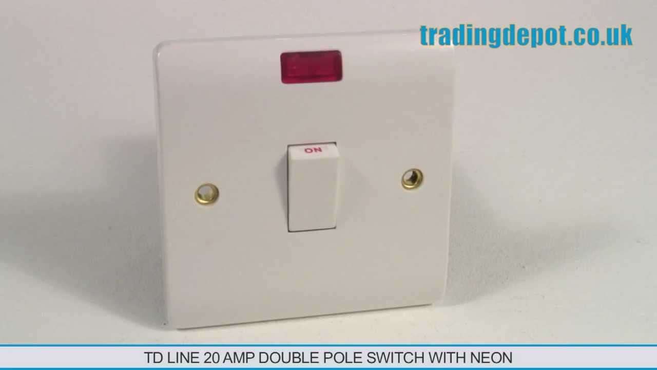 double pole switch wiring instructions