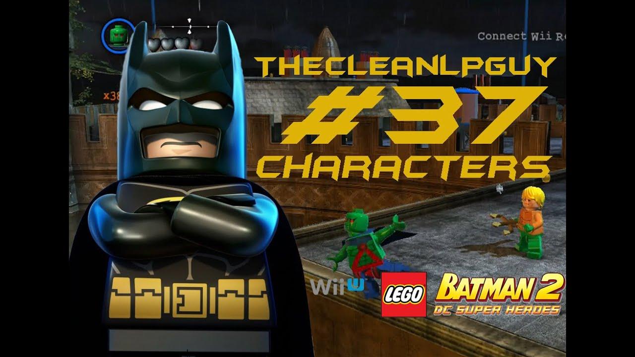lego batman wii game instructions