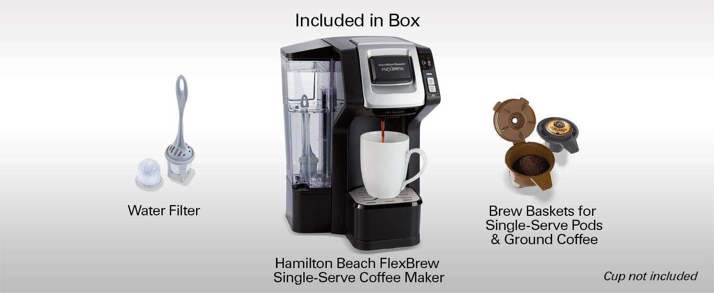 hamilton beach flexbrew instructions
