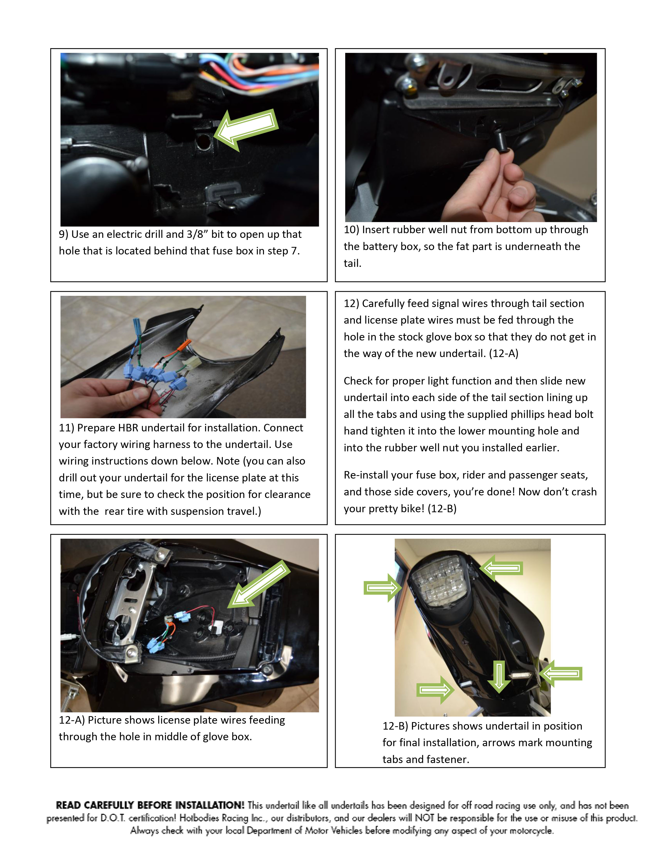 nectre 15 installation instructions