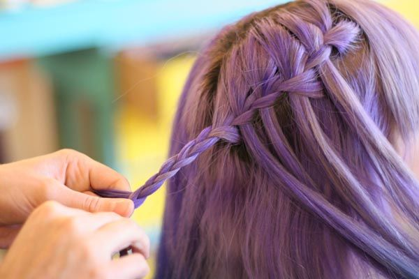 fishtail braid instructions for short hair