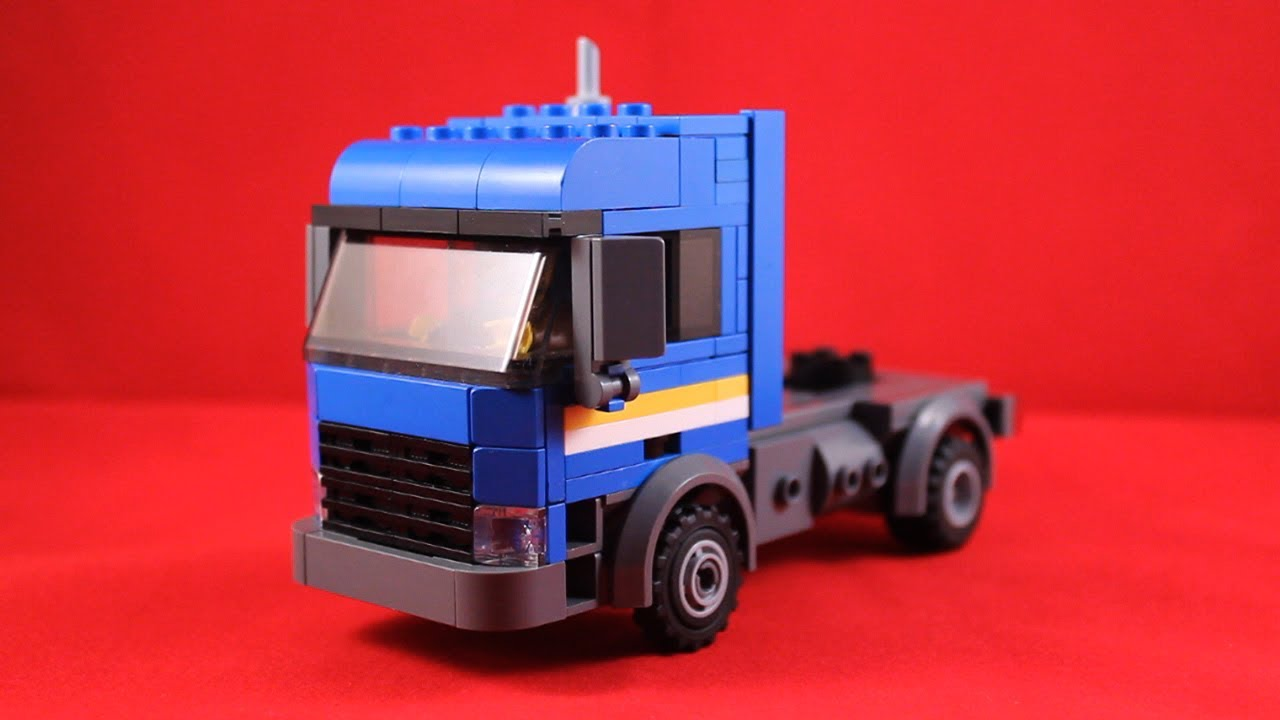 how to make a lego truck instructions