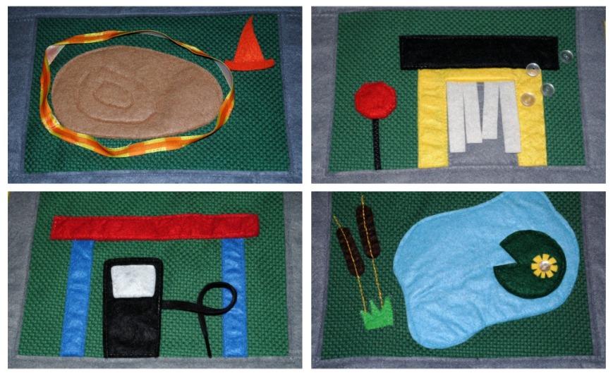 lamaze play mat pond instructions