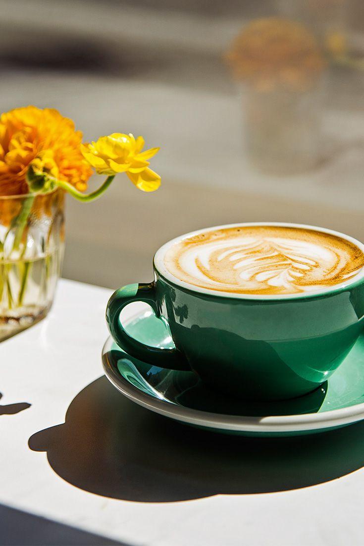 latte art instructional video
