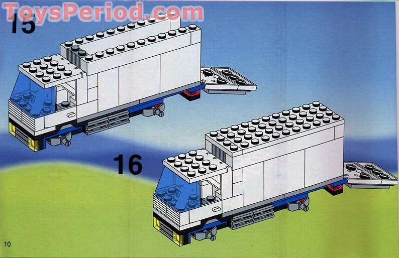 lego 60110 building instructions