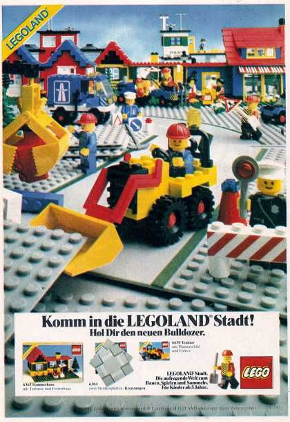 lego house instructions 1980s